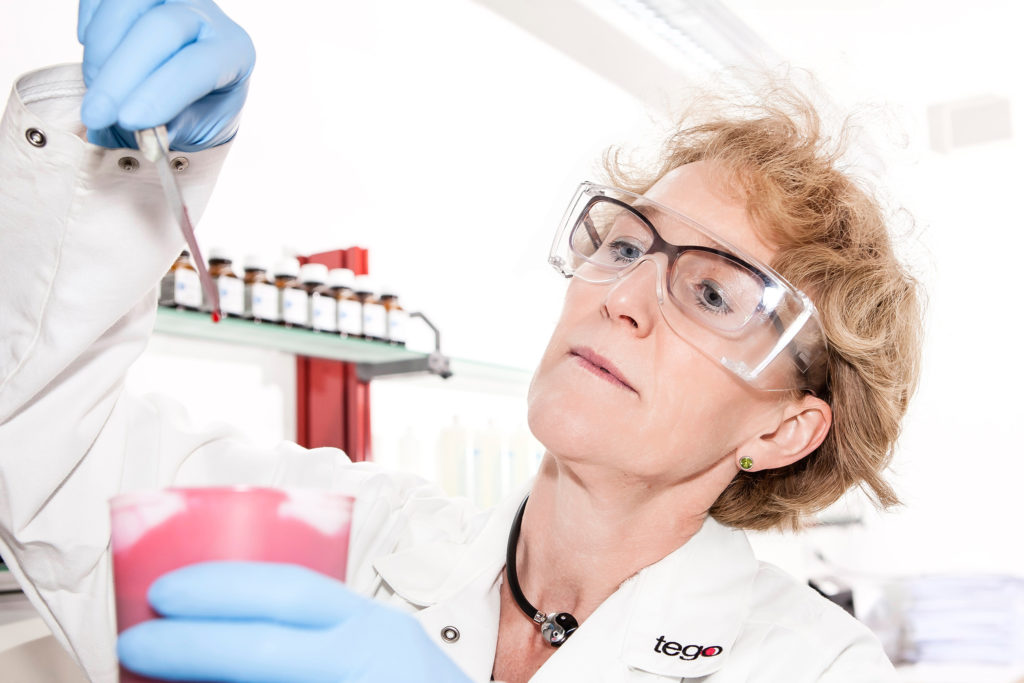 Evonik, Chemie, Goldschmidt, Labor, Angela Claßen